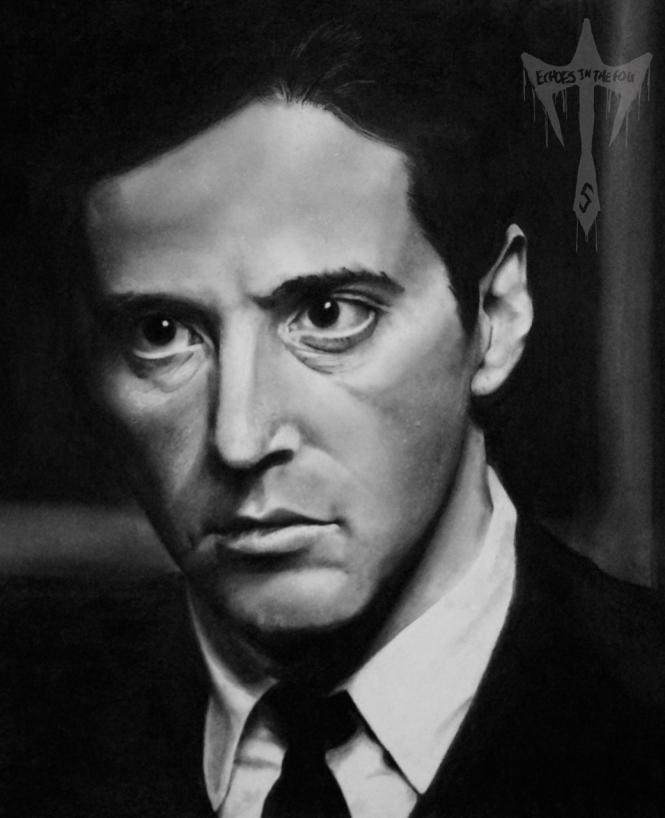 Al Pacino Charcoal